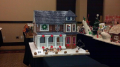 Gorgeous Gingerbread House by Lisa and Robb Martin