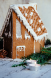 Alpine Gingerbread House
