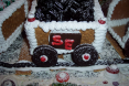 Loreta Wilson - Gingerbread Express Train and Depot
