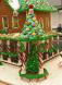 Beautiful Gingerbread House by Debbie & Ed Stevens
