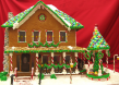 Beautiful Gingerbread House by Debbie & Ed Stevens