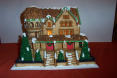 Cute, cute, CUTE gingerbread house by Meredith Koerner