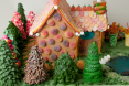 Hansel & Gretel Gingerbread House by Lorrie Gauthier