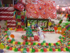 Candy, Candy, Candy Oh My.... gingerbread display by Cindy Peters