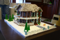 Christine Bielke - Effingham Gingerbread House - front