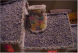 Loreta Wilson - Cal Young Gingerbread House - Chimney