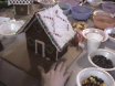 Elf Gingerbread House