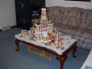 Gingerbread Palace by Lynne Schuyler