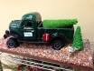 Detailed gingerbread replica of a 1952 Dodge Power Wagon by Donna Doyle