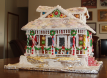 Victorian Gingerbread House by Lynne Schuyler