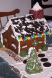 New England Saltbox Gingerbread House