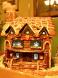 Award: Best Log Cabin - Log Cabin Gingerbread House