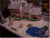 Loreta Wilson - Cal Young Gingerbread House - Pond