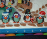 Award: Best Use of Characters on a Gingerbread Display - 05 BRRR... IT'S COLD OUTSIDE! Carolers