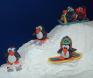 Award: Best Use of Characters on a Gingerbread Display - 08 BRRR... IT'S COLD OUTSIDE! Winter-J