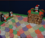 Award: Best Use of Characters on a Gingerbread Display - 09 BRRR... IT'S COLD OUTSIDE! Santa