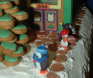 Award: Best Use of Characters on a Gingerbread Display - 10 BRRR... IT'S COLD OUTSIDE! Pizza