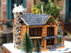 Log Cabin with the Rockford template