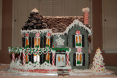 Effingham Gingerbread House - Front