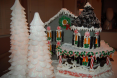 Effingham Gingerbread House - Front Left