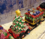 Tammy's Gingerbread Train 2014. whole train