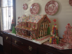 Gingerbread House placed in Historic Polk House Raleigh NC