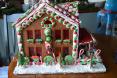 Christmas Garden House