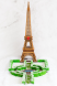 Award: Best Architectural Replication - Gingerbread Eiffel Tower
